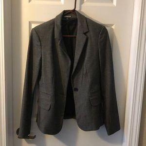 Grey blazer - Express size 8